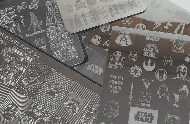 Star Wars Stamping Plates