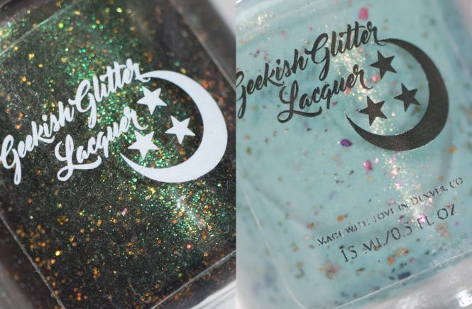 Geekish Glitter Lacquer July Polish Pickup Re-releases