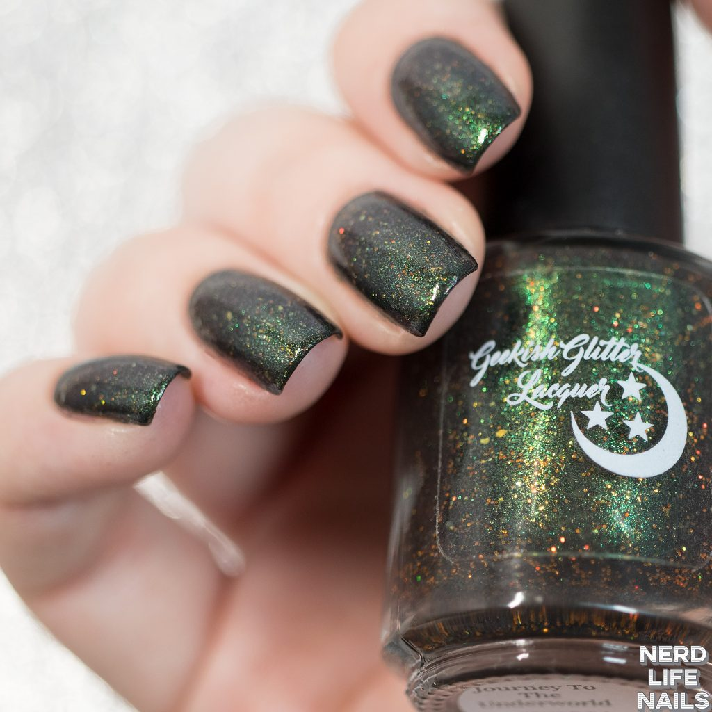 Geekish Glitter Lacquer - Journey To The Underworld