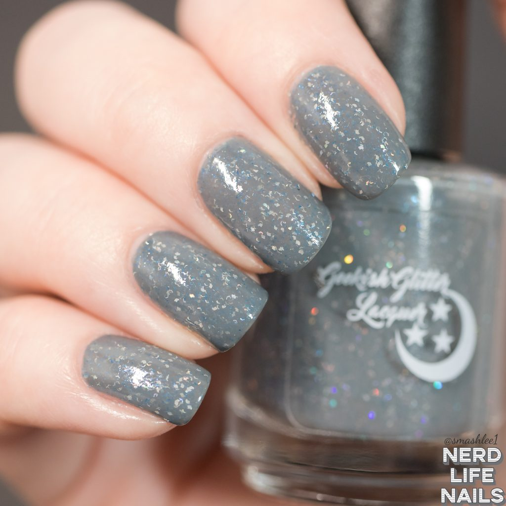 Geekish Glitter Lacquer Thunder Strikes