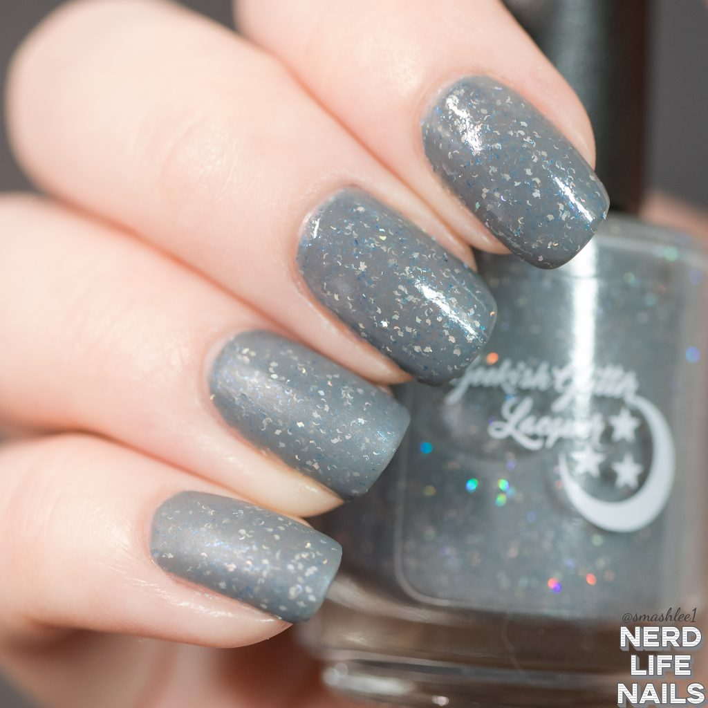 Geekish Glitter Lacquer Thunder Strikes Matte