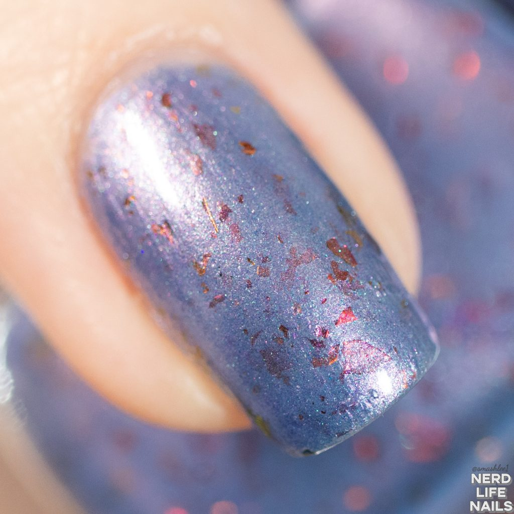 Red Eyed Lacquer - Shield of Honor nail macro