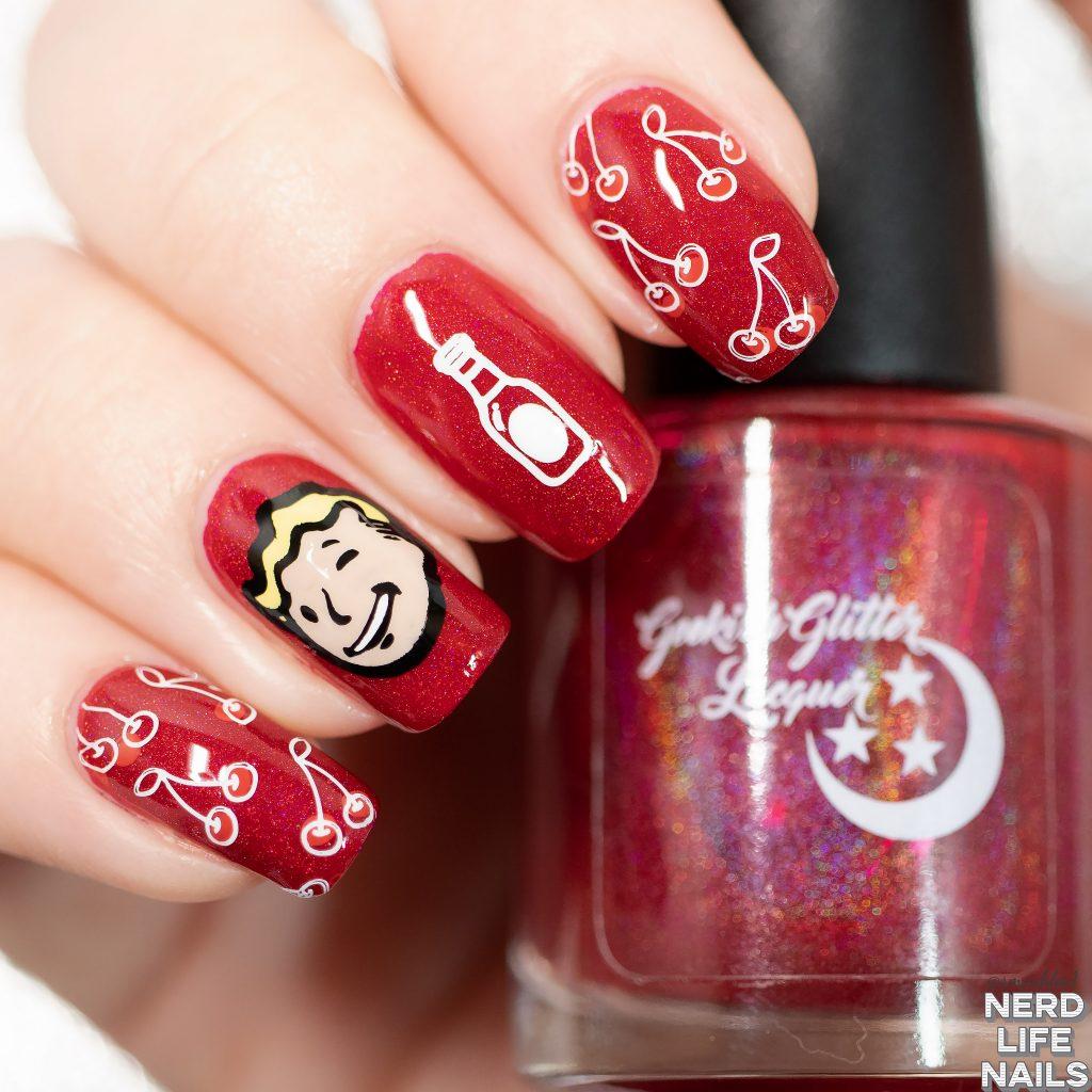 Nuka Cherry Nail Art