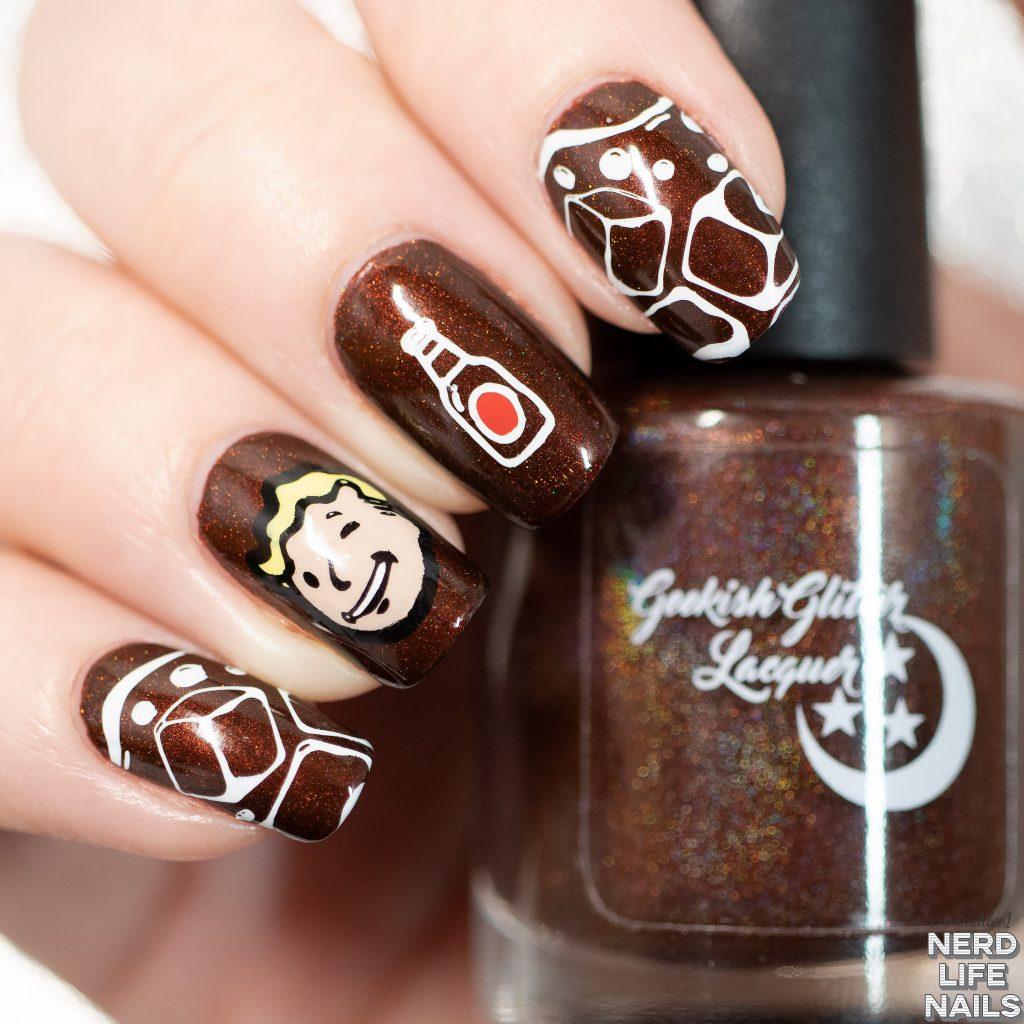 Nuka Cola Nail Art