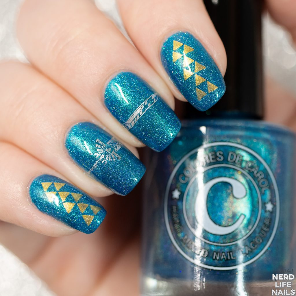 Colores De Carol - The Hero of Hyrule Nail Art