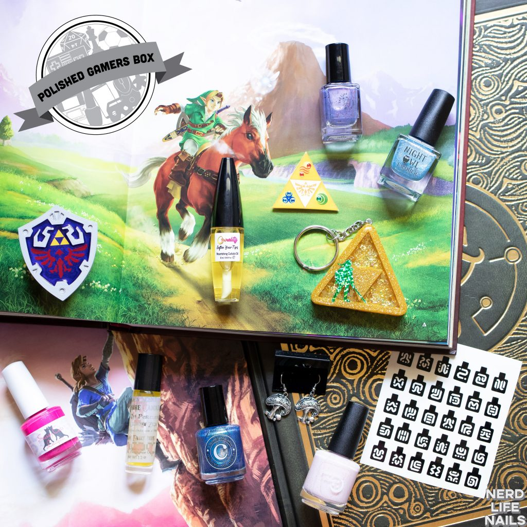 Polished Gamers Box - August 2019 Zelda