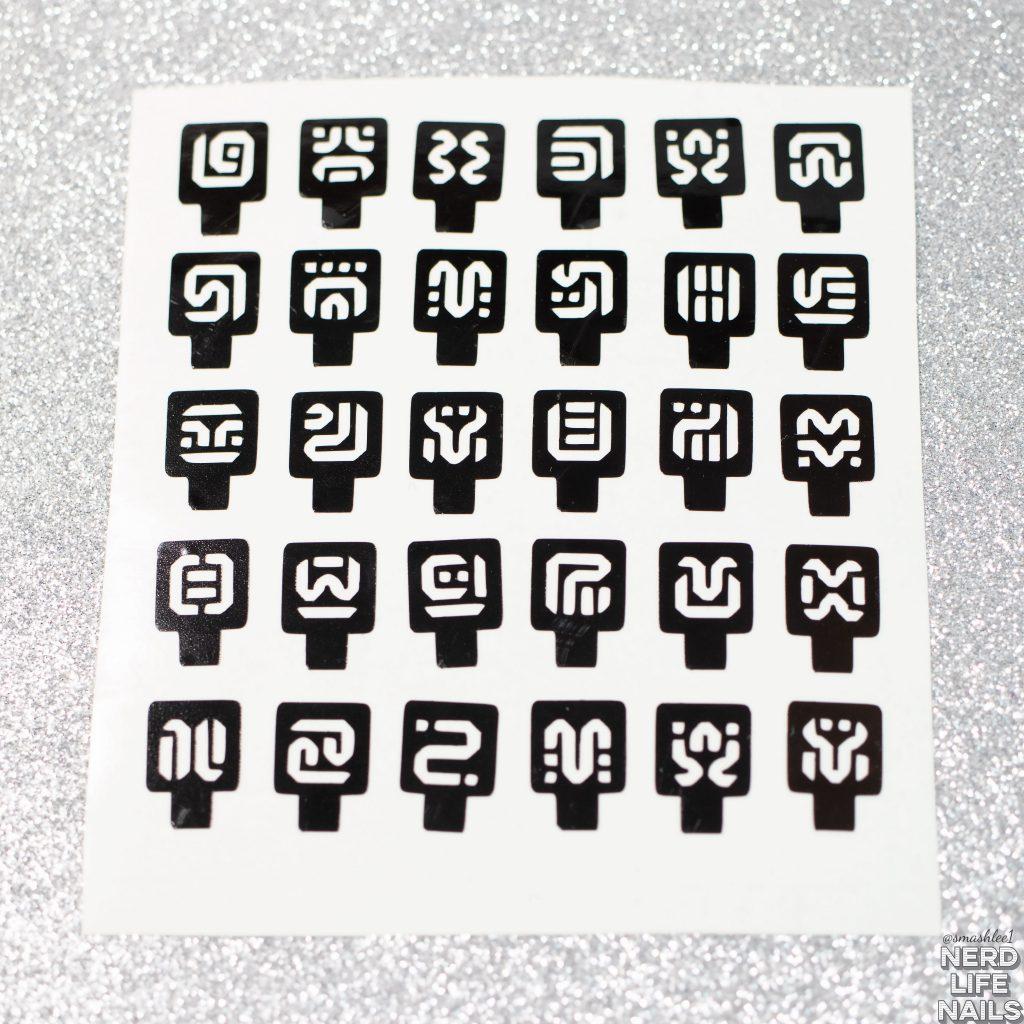 NeVermind - Sheikah Glyph Nail Vinyls