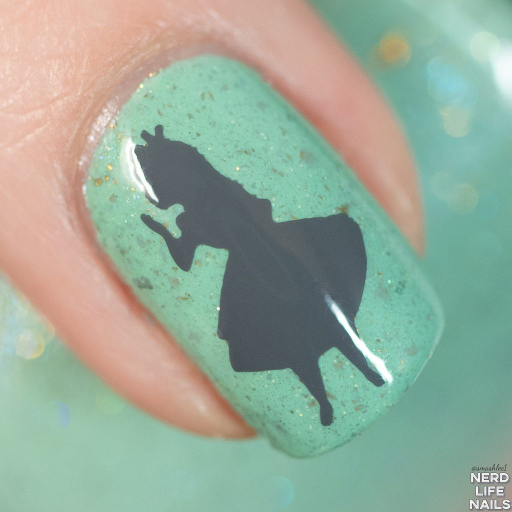 Geekish Glitter Lacquer - Muchness Mint