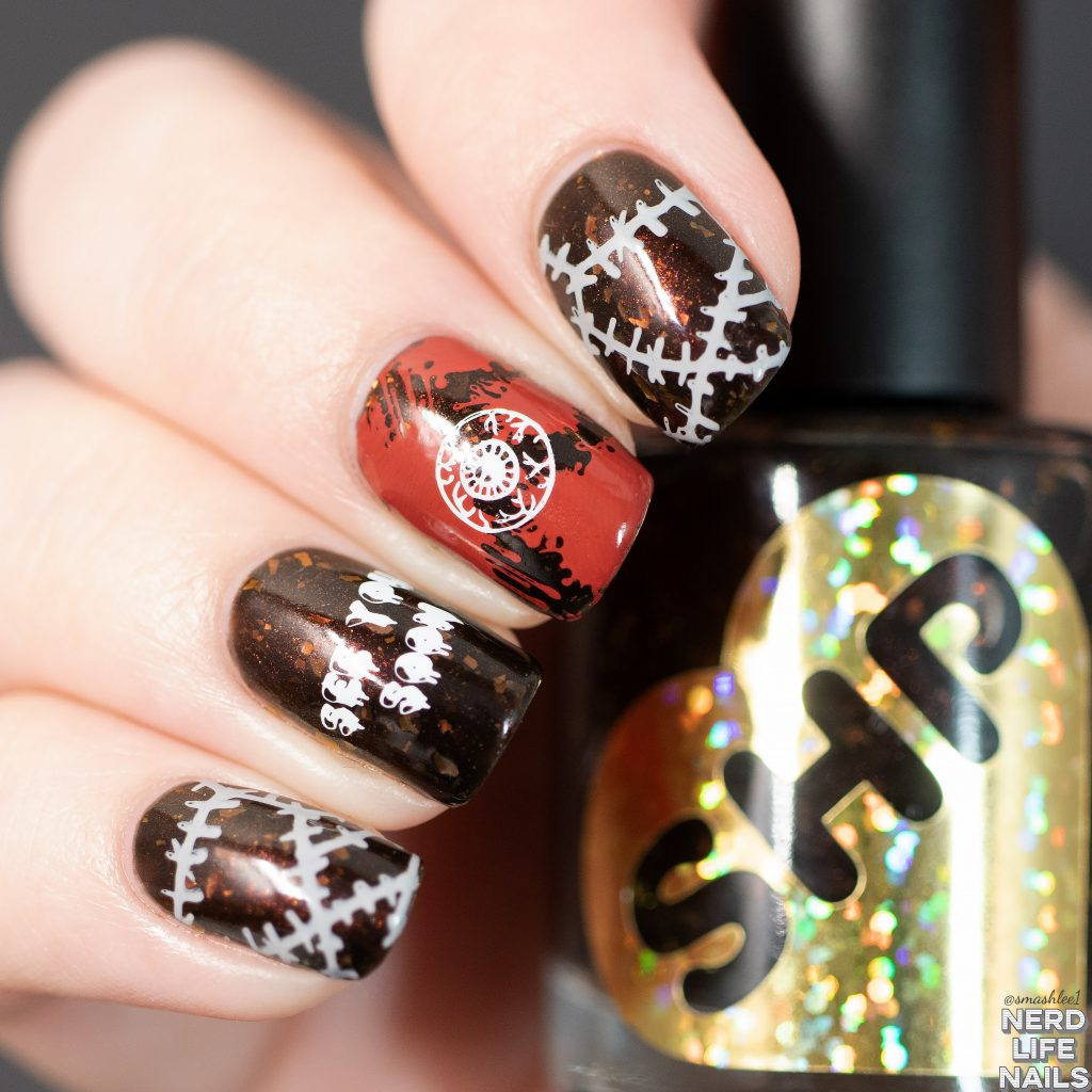 Sweet Heart Polish - Where'd You Get Those Peepers Nail Art