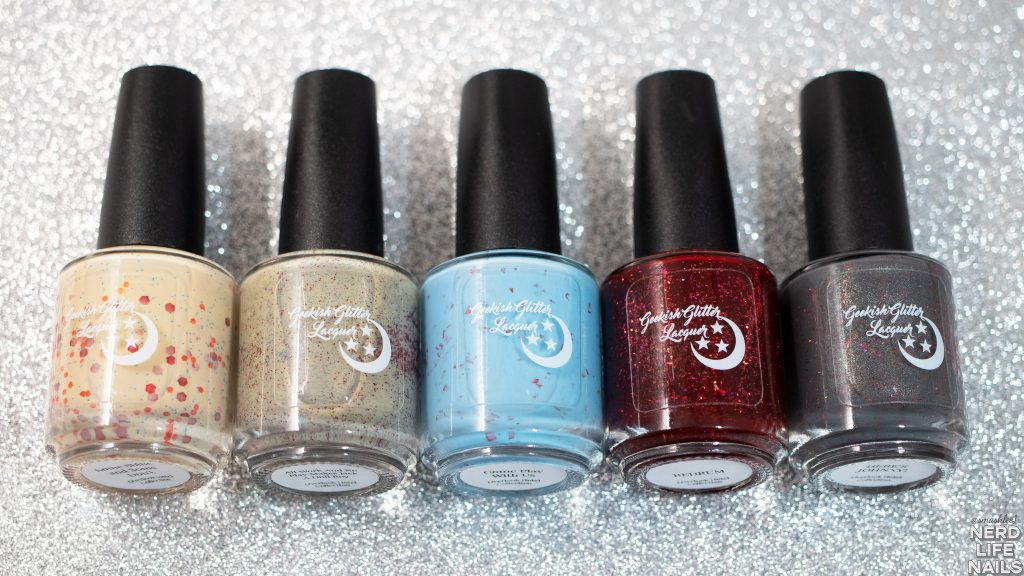 Geekish Glitter Lacquer The Overlook Hotel Collection