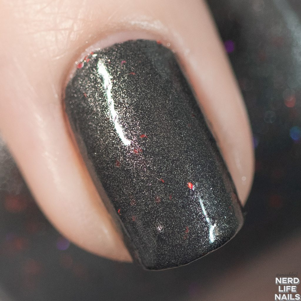 Geekish Glitter Lacquer - Here's JOHNNY!