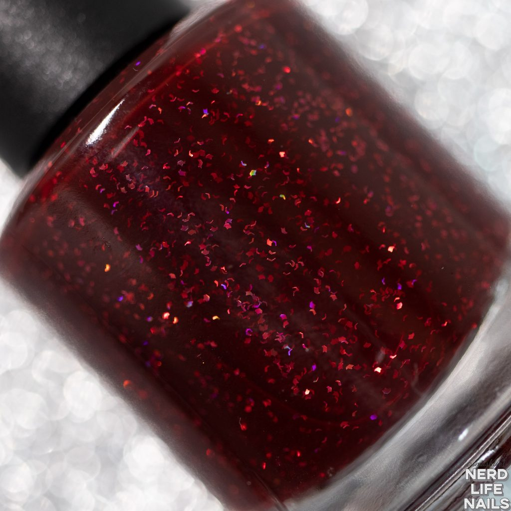 Geekish Glitter Lacquer - REDRUM
