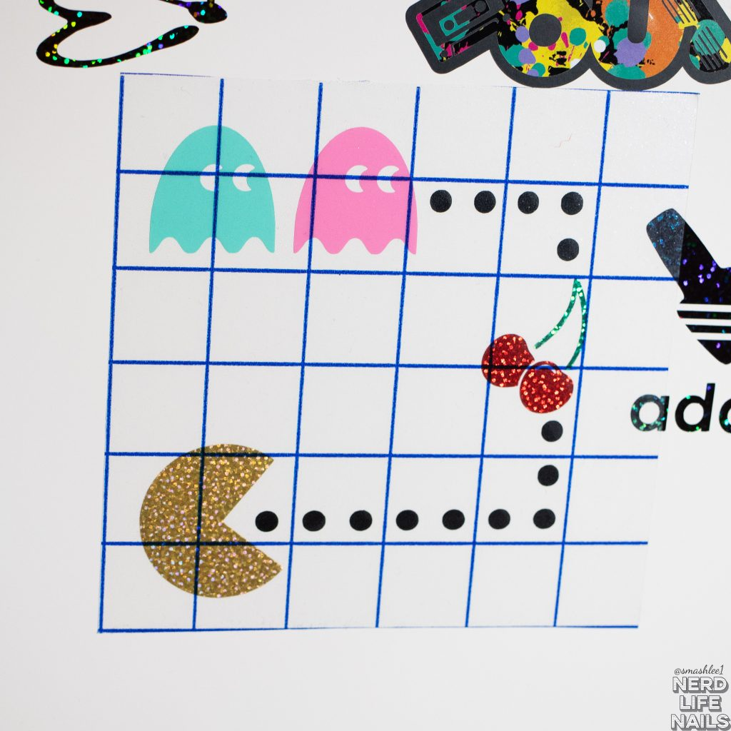 All Mixed Up Lacquers - Pac-Man Vinyl Sticker