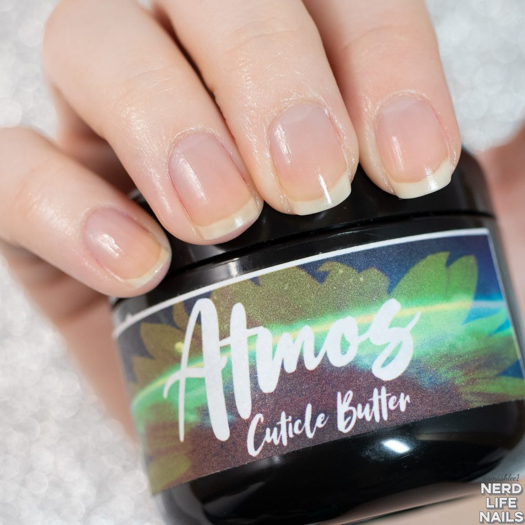 K.N.I Beauty and Bath - Atmos Cuticle Butter Scented in Slice of Life (a pizza scent)