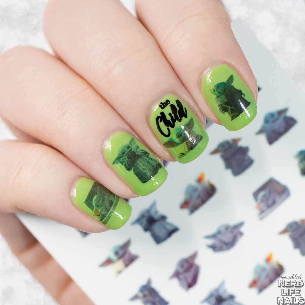 Fangirl Polish - Waterslide Nail Decals Manicure
