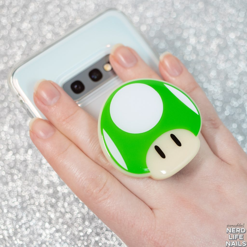 3Cheers4Ears - Green 1UP Inspired Phone Grip