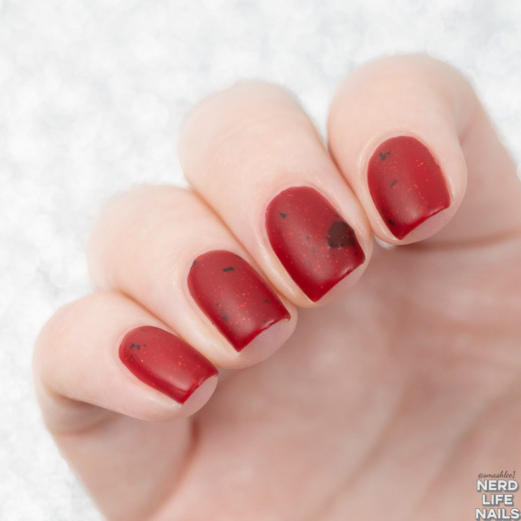 Geekish Glitter Lacquer - At Last We Will Have Revenge