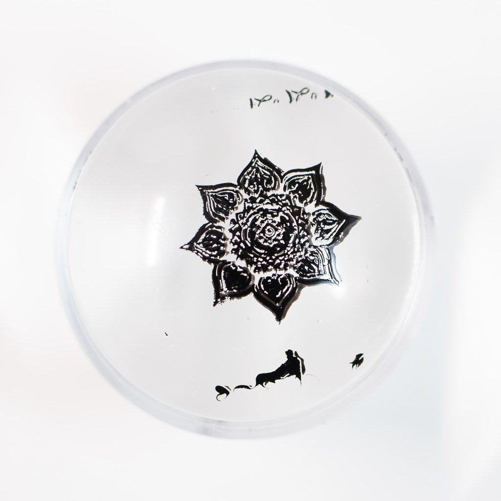 Clear Jelly Stamper Black 1