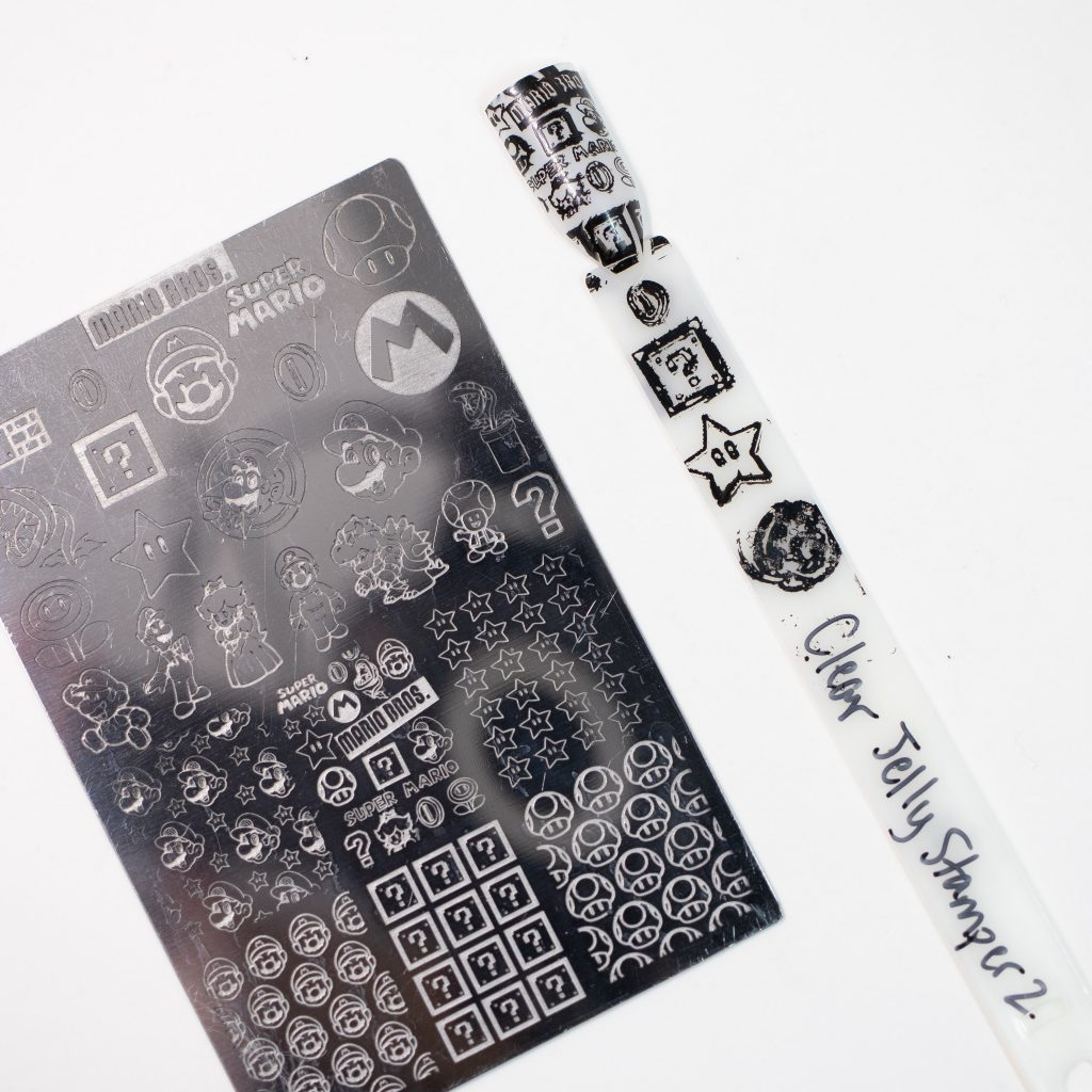 Clear Jelly Stamper Black 2