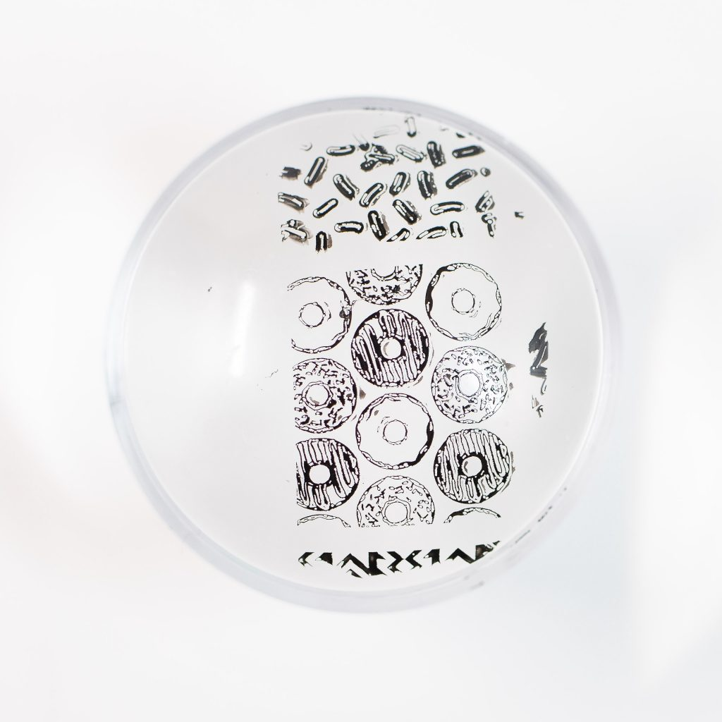 Clear Jelly Stamper Black 3