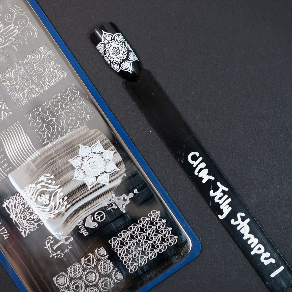 Clear Jelly Stamper White 1