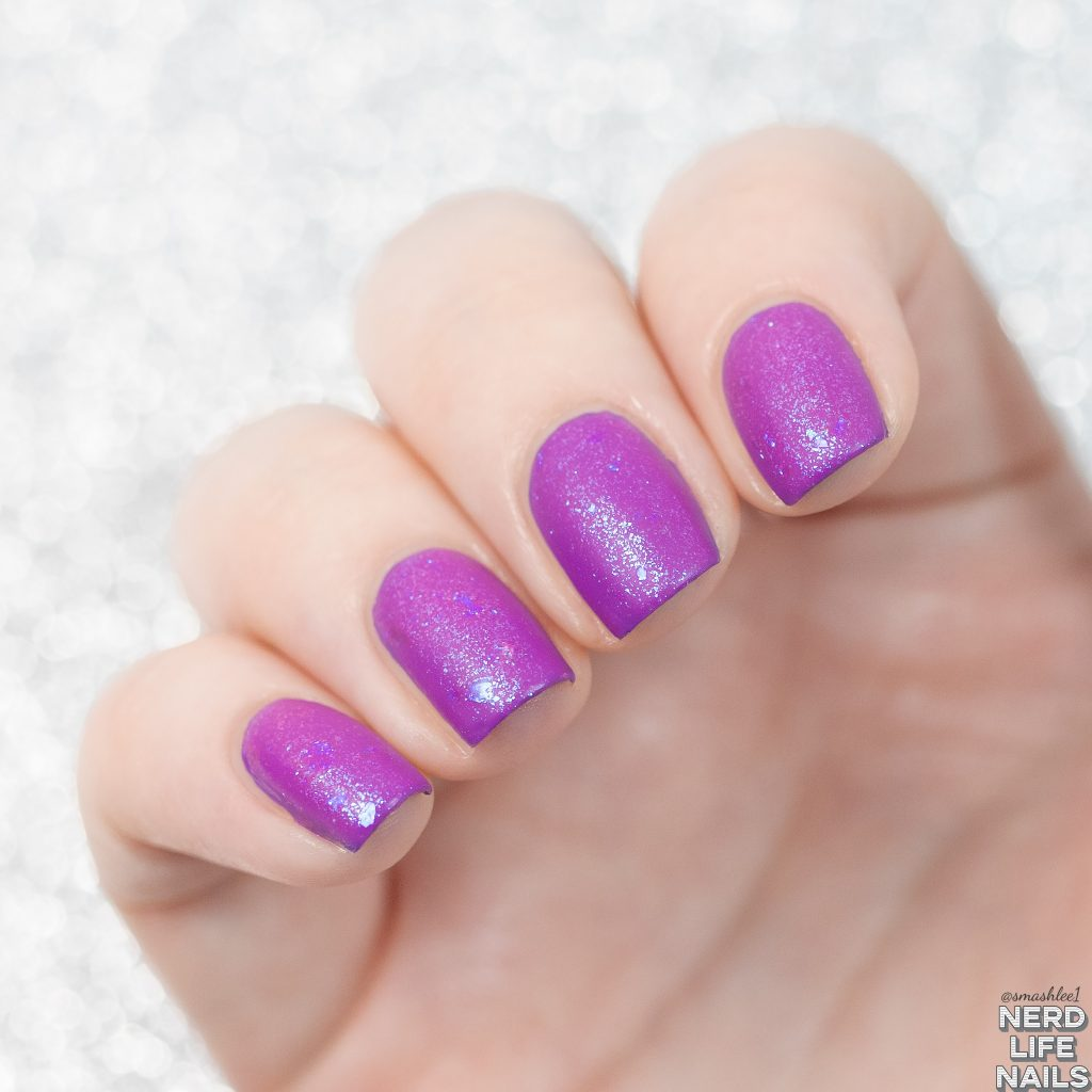 Geekish Glitter Lacquer - Power! Unlimited Power!