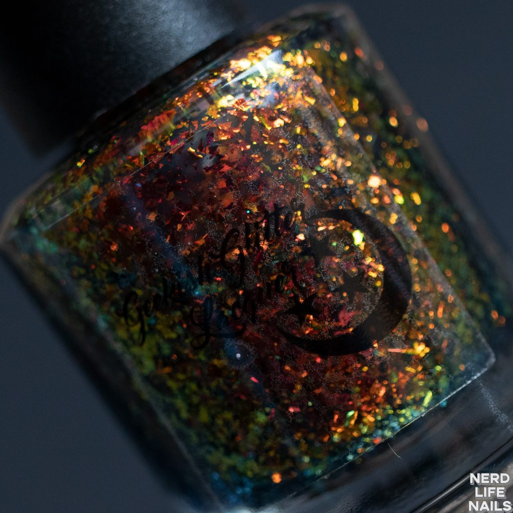 Geekish Glitter Lacquer - You Were My Brother, Anakin! I Loved You!