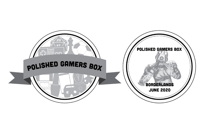 June Polished Gamers Box Title Image