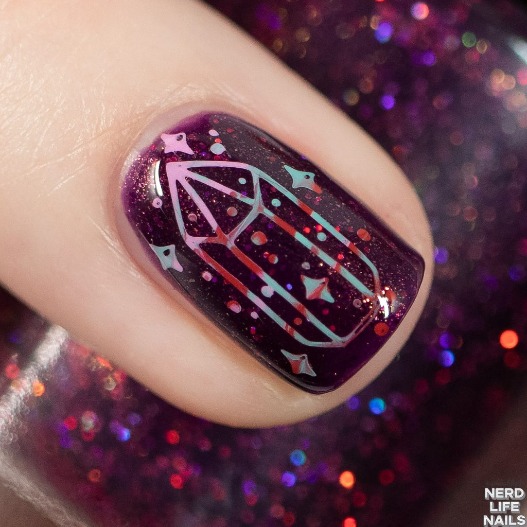 Geekish Glitter Lacquer - Heart Soother