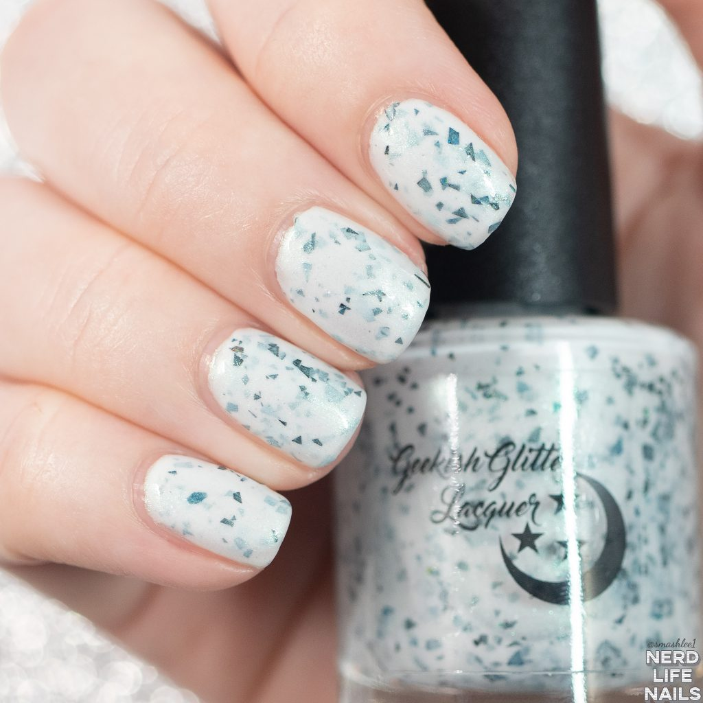 Geekish Glitter Lacquer - The Myth, The Legend, The Baby