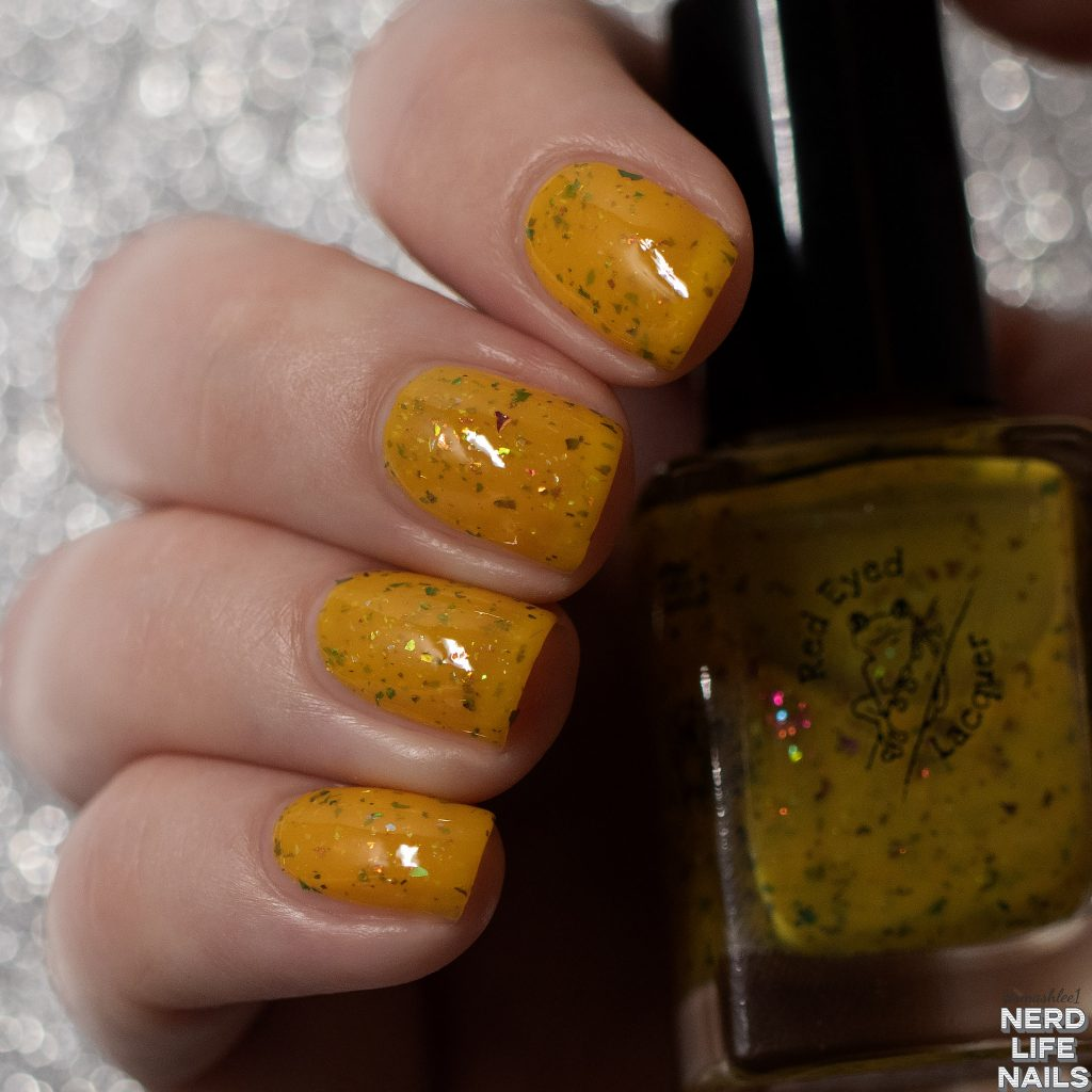 Red Eyed Lacquer - Silly Old Bear