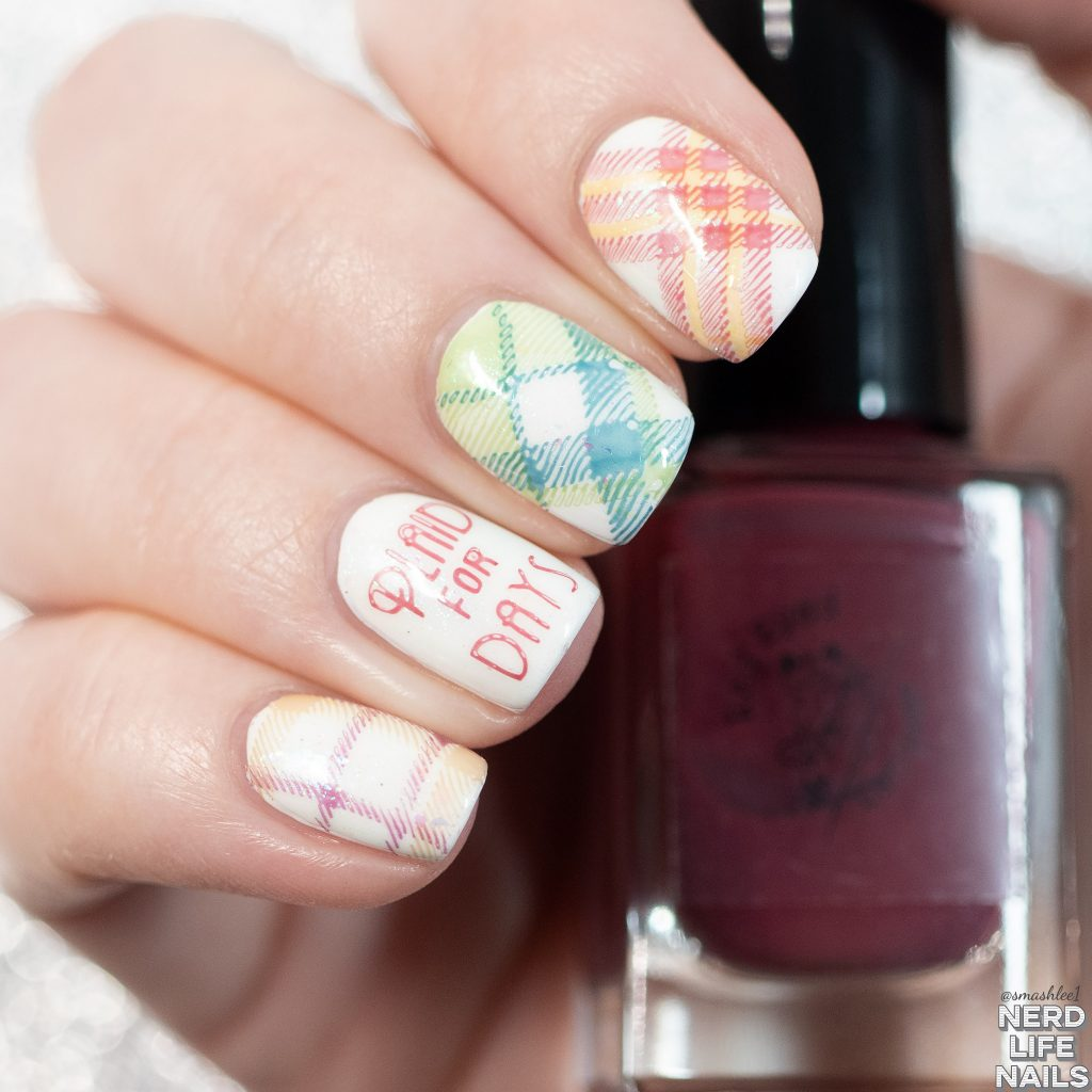 Red Eyed Lacquer - Going Solo Collection Nail Art