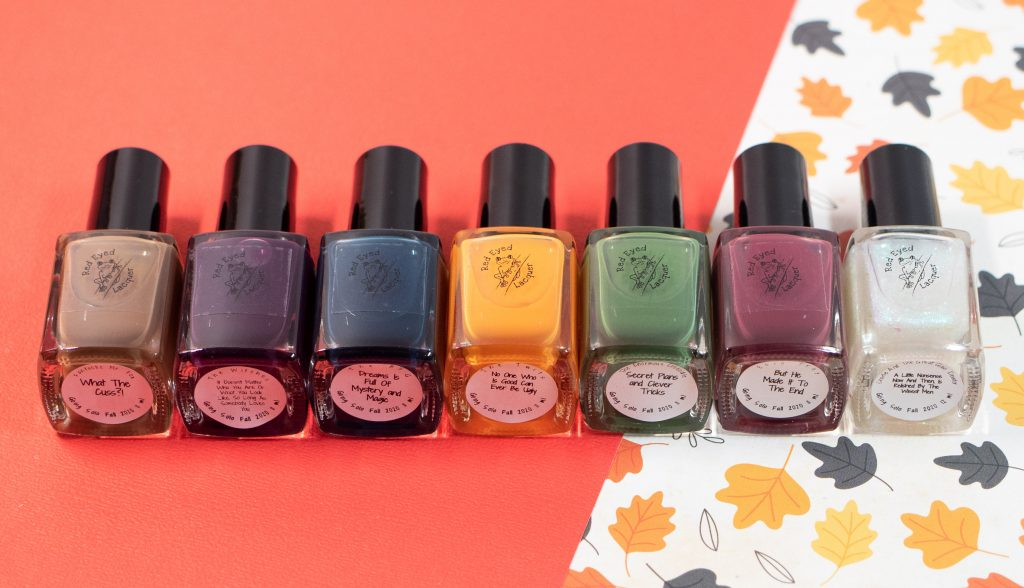 Red Eyed Lacquer - Going Solo Fall Collection