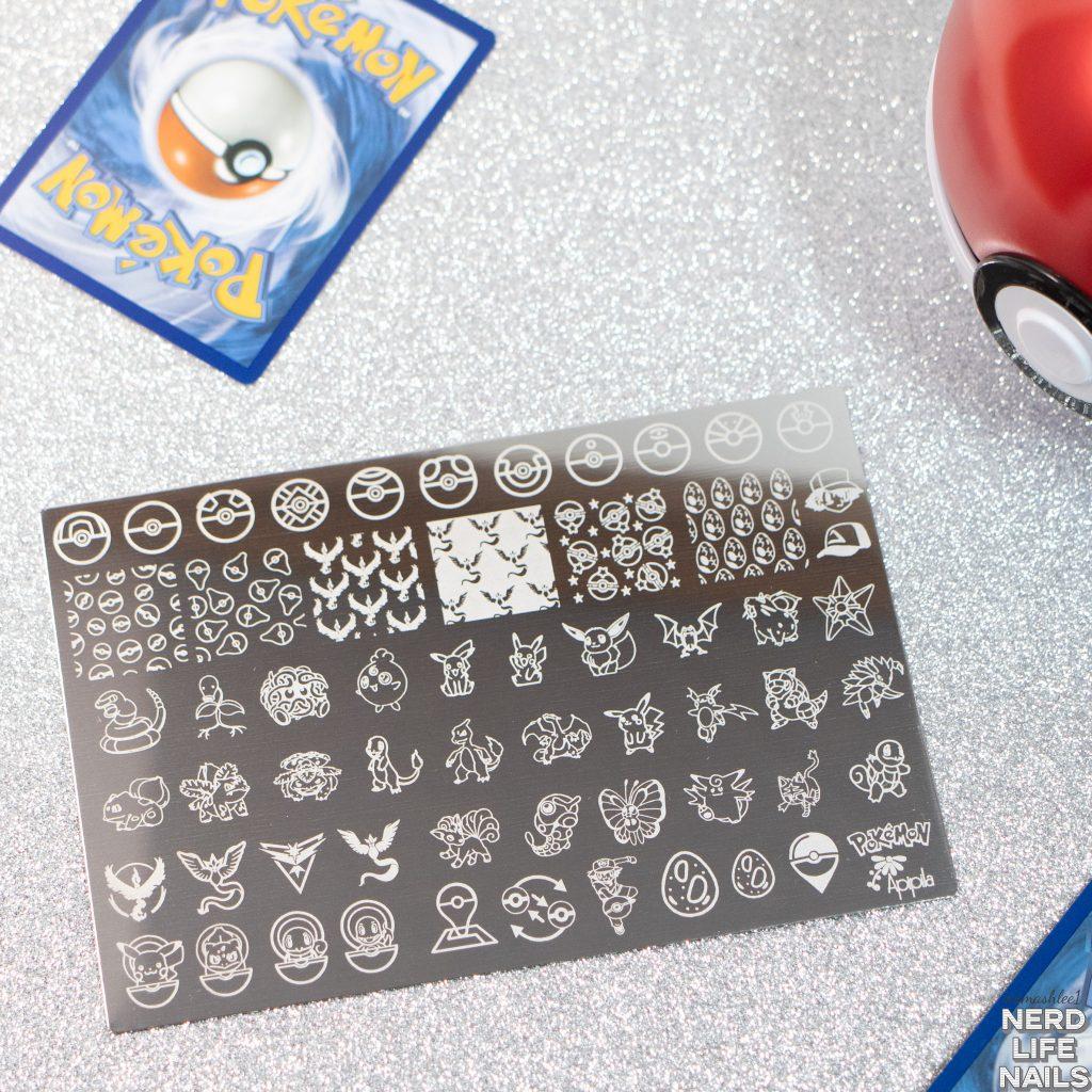 Apipila - Pokémon Stamping Plate