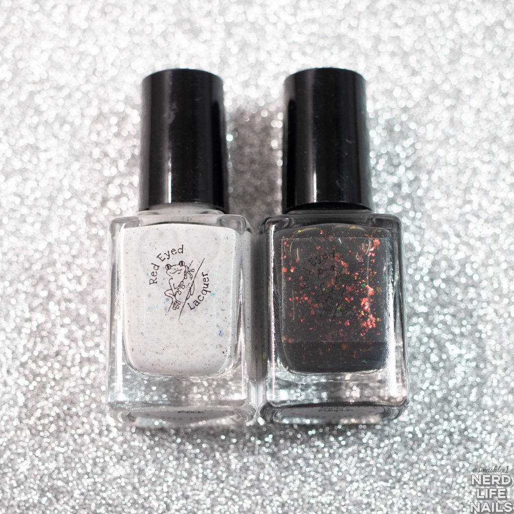 Red Eyed Lacquer - You Owe Me Restitution! Halloween Duo