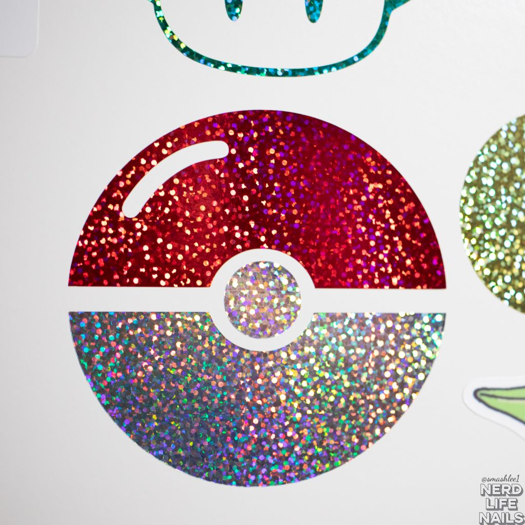 All Mixed Up Lacquers - Pokeball Vinyl Sticker