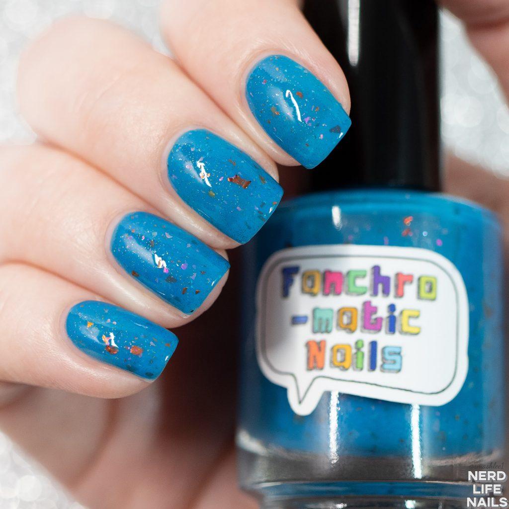 """Fanchromatic Nails - """"so i herd u liek mudkipz"""""""