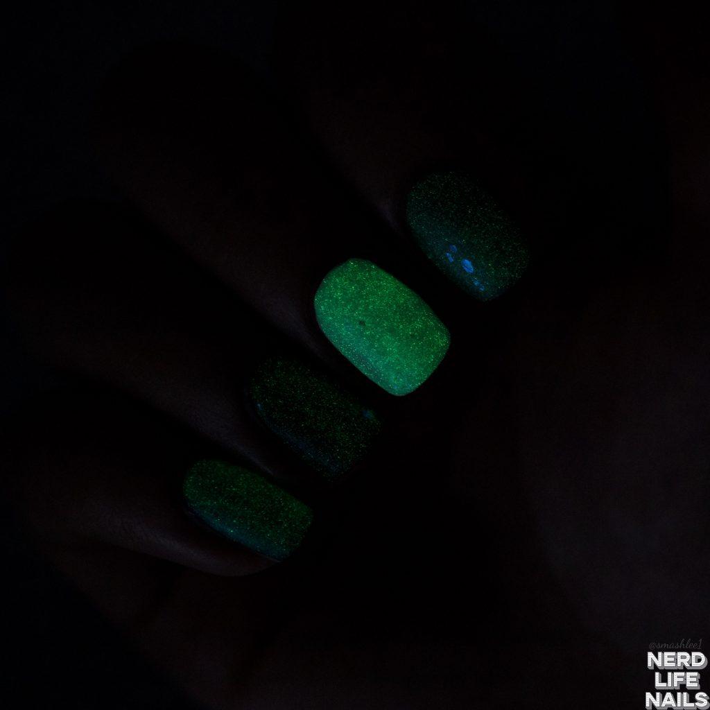 Geekish Glitter Lacquer - Scream In The Night
