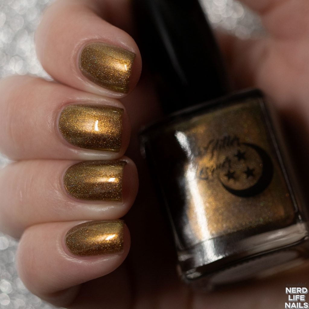 Geekish Glitter Lacquer - With The Candlestick