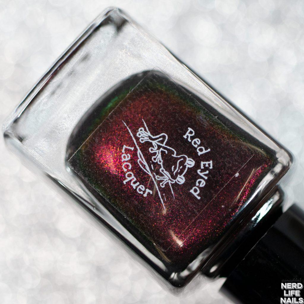 Red Eyed Lacquer - Bond, Santa Bond