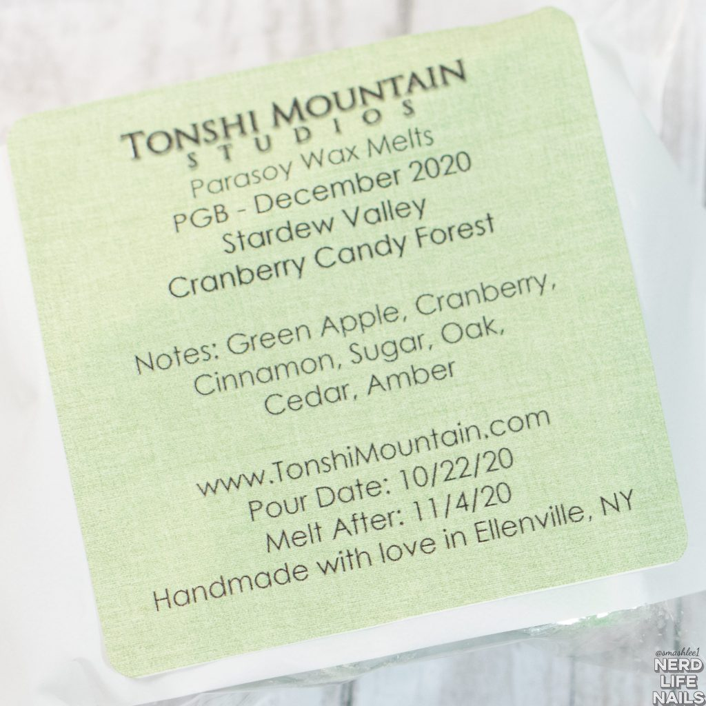 Tonshi Mountain Studios - Cranberry Candy Forest