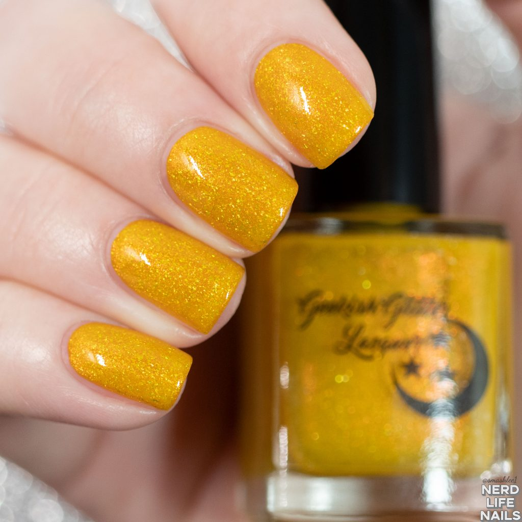 Geekish Glitter Lacquer - Daisy