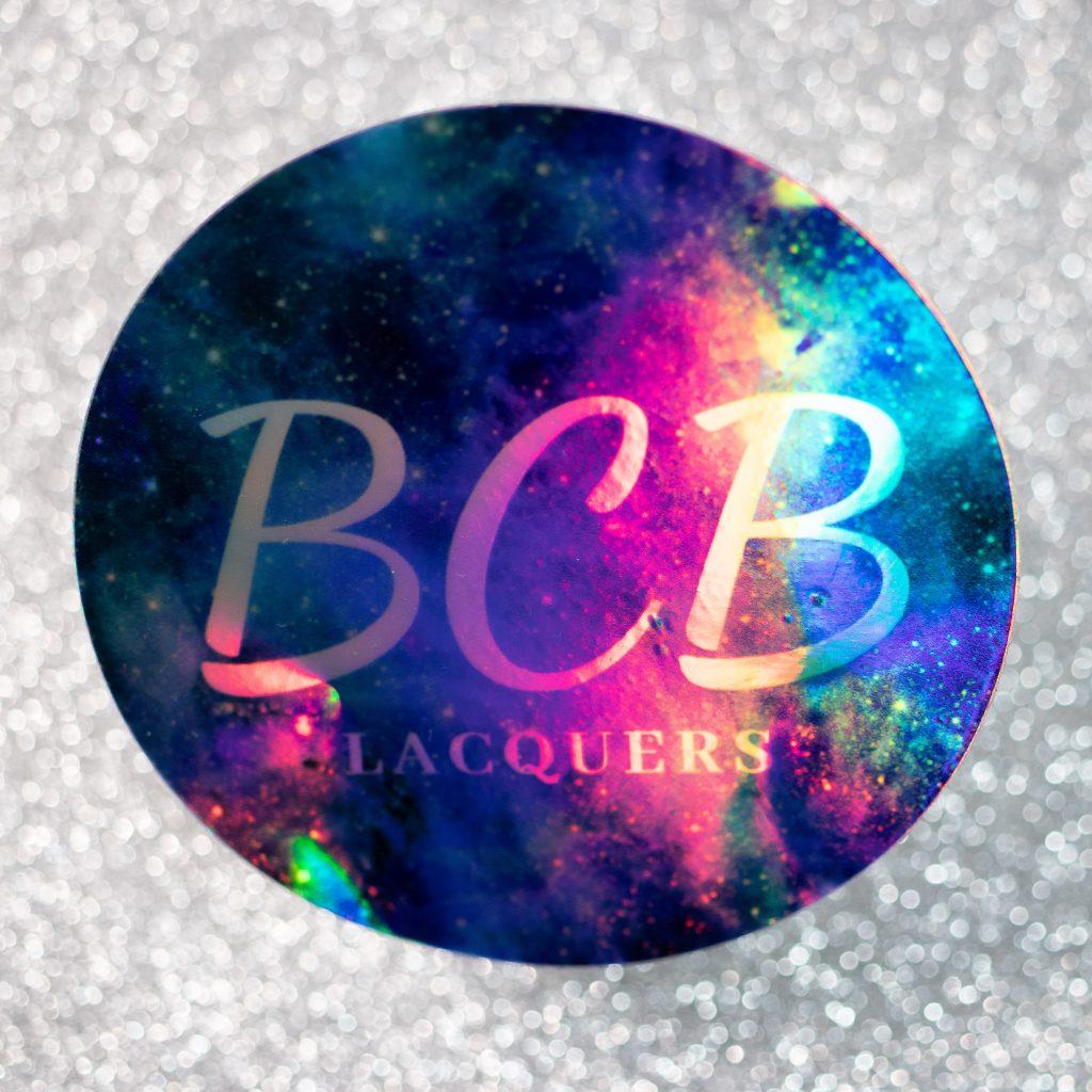 BCB Lacquers Sticker