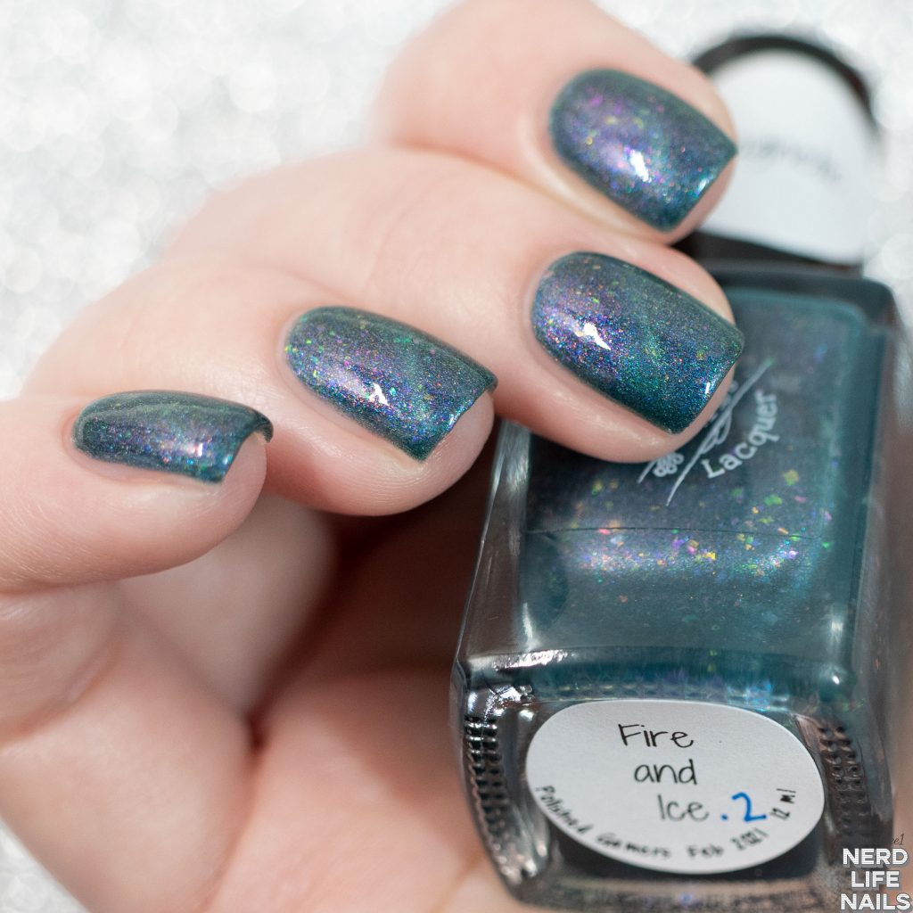 Red Eyed Lacquer - Fire and Ice
