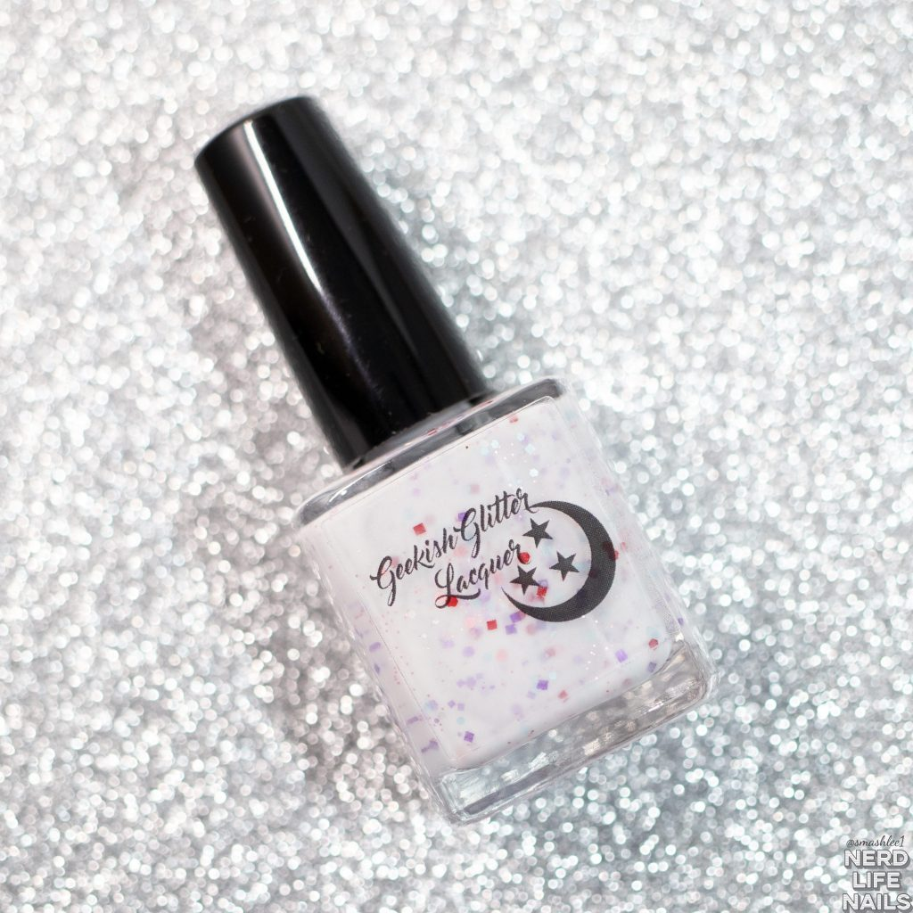 Geekish Glitter Lacquer - Peeps Party