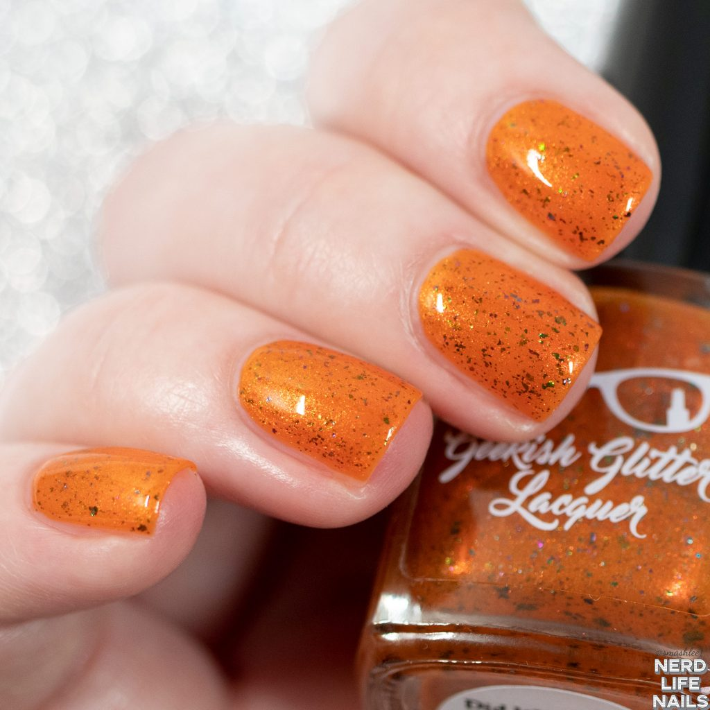 Geekish Glitter Lacquer - Did We Not Put The 'Grrr' In 'Girl'?