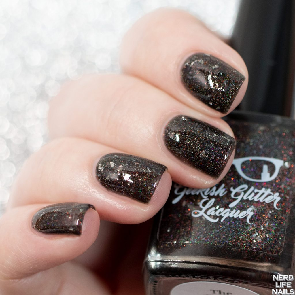 Geekish Glitter Lacquer - The Ghost Face