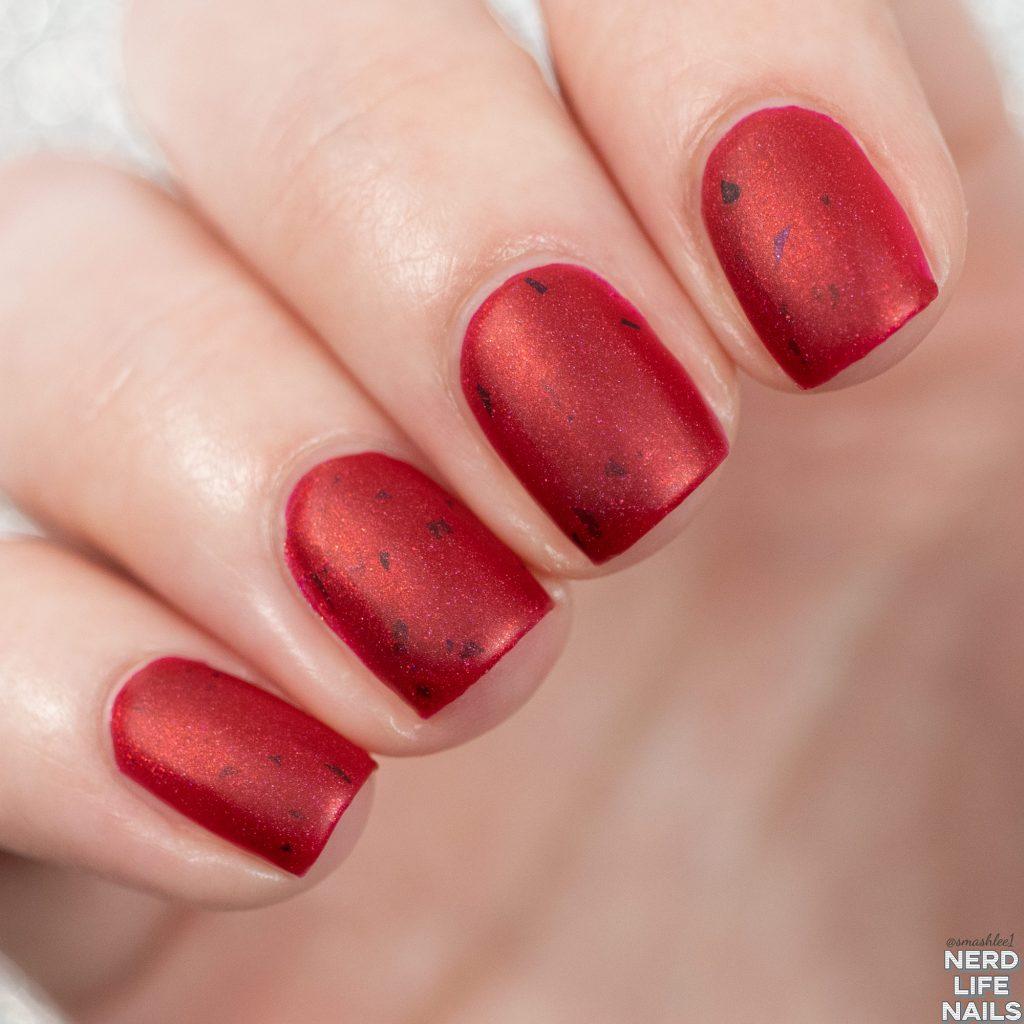 Geekish Glitter Lacquer - I Hope Evil Takes Mastercard
