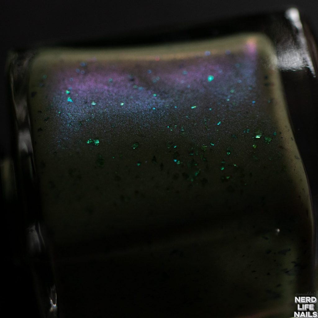 Geekish Glitter Lacquer - I Laugh In The Face Of Danger. And Then I Hide Until It Goes Away