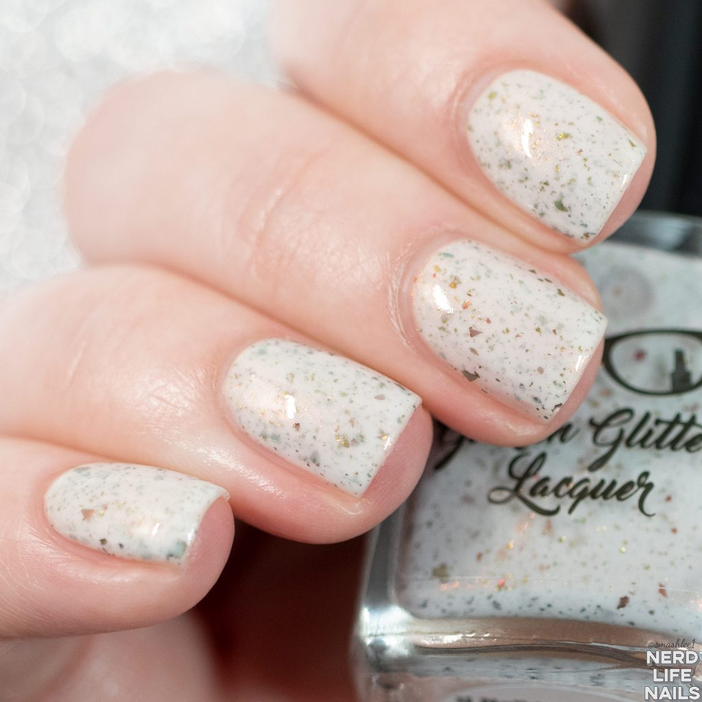 Geekish Glitter Lacquer - If Nothing We Do Matters, Then All That Matters Is What We Do